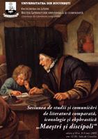 ediţia a VI-a - 'maeştri şi discipoli'